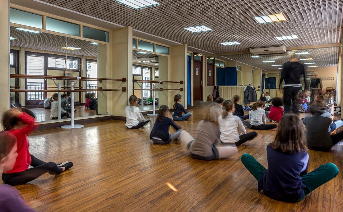 Salle de danse 206